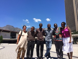 Africa Wikipedians at WikiaAfrica training